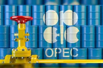 OPEC daily basket price stood at $34.84 a barrel Thursday