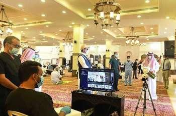 صحة تبوك تشارك بفريق طبي لتوعية المصلين في صلاة الجمعة