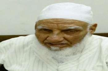 وفاة أقدم القراء في السعودیة الشیخ محمود سکر عن عمر ناھز 90 عاما