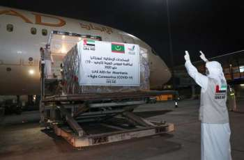 UAE sends medical and food aid to Mauritania in fight against COVID-19