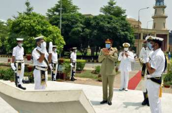 Chairman Joint Chiefs Of Staff Committee Addresses At Pakistan Navy War College