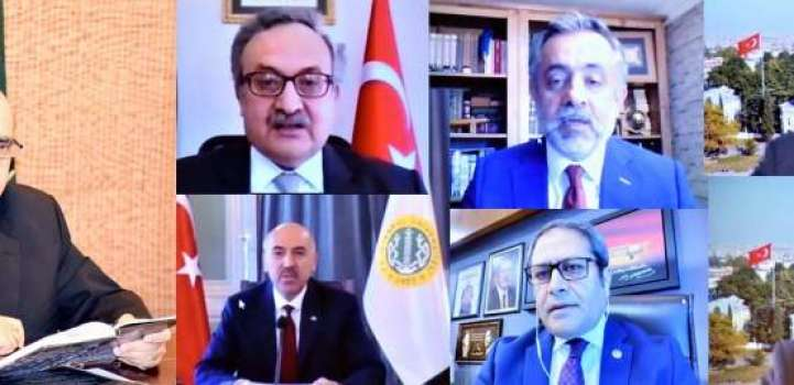 Masood Khan urges Turkey to play the role of mediator to resolve  ..