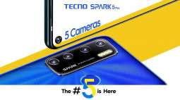 TECNO's New Spark Series Might Be Equipped with Five Cameras