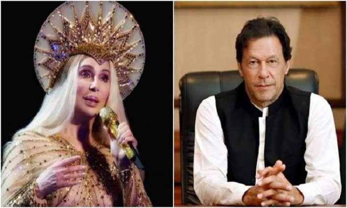 """ممثلة أمریکیة """" شیر """" تکشف عن حبھا مع رئیس وزراء باکستان"""