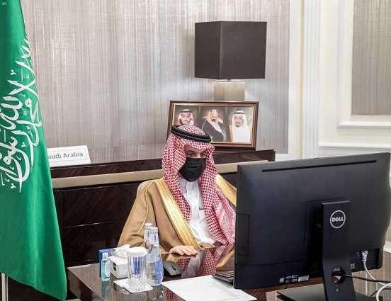 سمو وزير الخارجية يؤكد التزام المملكة المستمر بدعم جهود التحالف الدولي ضد تنظيم داعش الإرهابي في سبيل القضاء عليه والخلايا التابعة له