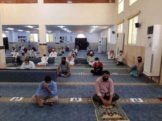 جوامع ومساجد منطقة نجران تستقبل المصلين لأداء صلاة الجمعة مع التقيد بالإجراءات الوقائية