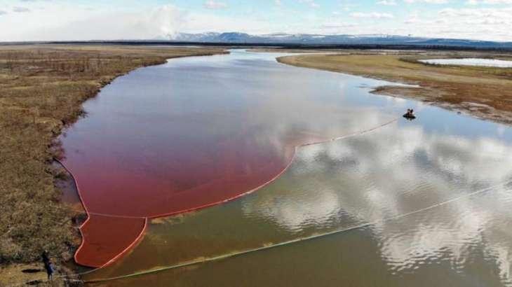 Nornickel to Start Pumping Contaminated Soil From Ambarnaya River Near Norilsk on July 1