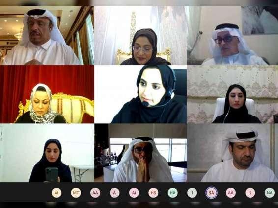 """""""وزارة البنية التحتية"""" و""""الإمارات لرعاية الموهوبين"""" تبحثان تعزيز الشراكة في رعاية المهندسين الموهوبين"""