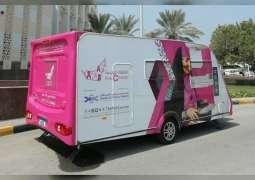 Pink Caravan brings its medical minivan to Ajman