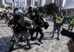 Seven Police Officers Wounded During Hong Kong Protests Against Security Law