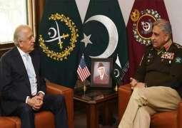 U.S. Special Representative for Afghanistan Reconciliation Ambassador Zalmay Khalilzad and U.S. International Development Finance Corporation (DFC) Chief Executive Officer Adam Boehler visited Islamabad on July 1