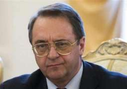 Russia's Bogdanov, Fatah Executive Discuss Settlement of Israeli-Palestinian Conflict