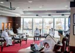 حمدان بن محمد يترأس اجتماع المجلس التنفيذي في ميناء جبل علي