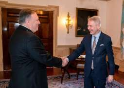 Pompeo, Finnish Counterpart Discuss 5G Security, Afghanistan Aid - US State Dept.
