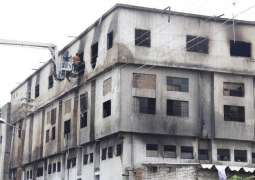 Baldia Town factory was burnt over non-payment of Rs 200mn as extortion money: JIT