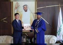 Zayed bin Sultan Al Nahyan Charitable and Humanitarian Foundation discusses cooperation with Kazakh Embassy