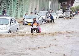 Met Office forecast more rain in Karachi tonight