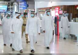 Hamdan bin Mohammed reviews preparations and protocols at Dubai Airport