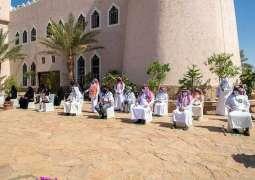 سمو أمير منطقة الجوف يكرم المتطوعين والمتطوعات نظير جهودهم خلال جائحة كورونا