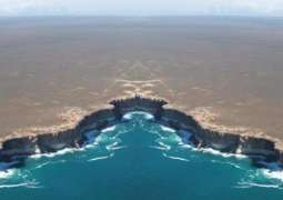 Picture showing end of earth in Australia goes viral on social media