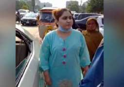 Woman booked over charges of slapping traffic warden in Gulberg