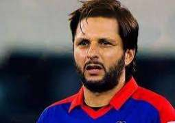 Shahid Afridi's charity foundation's logo featured on team's playing kits for England tour