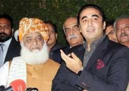 JUI-F calls on PPP Chairman Bilawal Bhutto, Zardari