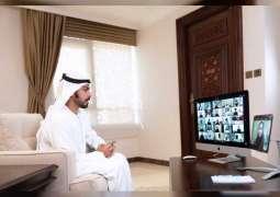 Khalifa bin Tahnoun congratulates children of martyrs on their success in 12th-grade exams