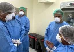 ارتفاع حصیلة الاصابات بفیروس کورونا في باکستان الي 245465 حالة