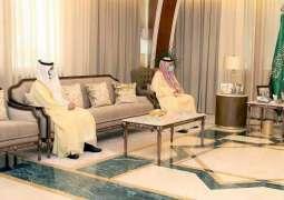 سمو أمير المنطقة الشرقية يلتقي رئيس الهيئة العامة للطيران المدني