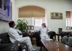 مساعد وزير الدولة للشؤون الإفريقية يستقبل القائم بأعمال سفارة جمهورية نيجيريا