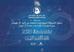 """تحت رعاية مريم بنت محمد بن زايد .. """"أبوظبي التقني"""" يحتفي بتخريج 714 مواطنة من ثانويات التكنولوجيا التطبيقية"""