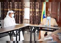 رئيس جزر القمر المتحدة يلتقي سفير الإمارات و أحمد بن محمد الجروان