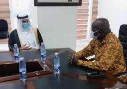 سفير المملكة لدى غانا يلتقي بوزير الطيران الغاني