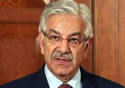 NAB summons Khawaja Asif again in a housing society case