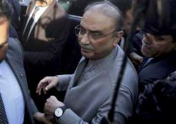 Zardari files fresh petition in NAB court to halt proceedings in Park Lane Reference