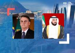 UAE President congratulated by Brazilian leader on successful launch of Hope Probe to Mars