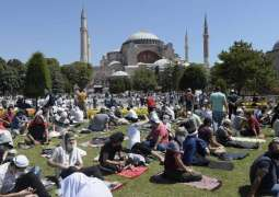 Historic Day in Turkey: First Jumma prayer at Hagia Sophia after 86 years
