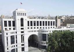Armenia Accuses Azerbaijan of Sabotaging Work of Its Diplomatic Missions Abroad