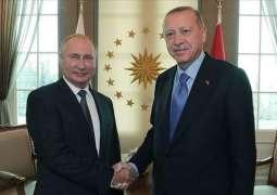 Putin, Erdogan Discussed Azerbaijani-Armenian Tensions - Turkish Leader's Office