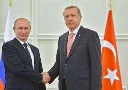 Putin, Erdogan Discussed Situation in Transcaucasia Amid Armenian-Azeri Conflict - Kremlin