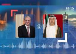 UAE Foreign Minister, Armenian counterpart review relations, COVID-19 developments