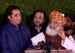 Bilawal discusses APC agenda with JUI-F Chief