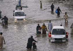 PPP ministers defend Sindh govt over flooded Karachi