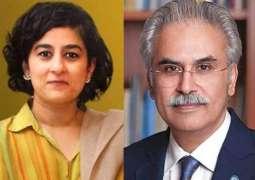 Why did Tania Aidrus and Dr. Zafar Mirza step down?