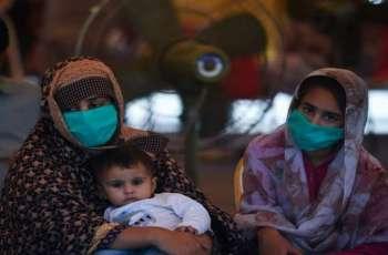 باکستان تسجل ارتفاع حصیلة الاصابات بفیروس کورونا الي 217809 حالة