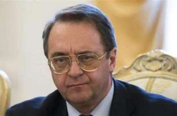 Russian Deputy Foreign Minister Receives Palestinian Ambassador in Moscow