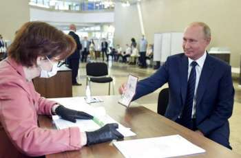 Russia's Central Election Commission Certifies Results of Constitutional Amendments Vote