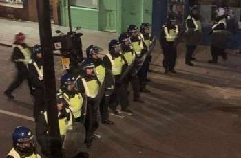 Seven Officers Injured Dispersing Unauthorized Party in London - Police