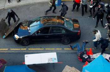 Car Rams Into Protesters in US State of Washington, 2 People Hospitalized - Reports